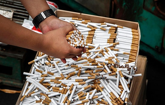 Стало известно количество поддельных сигарет в России