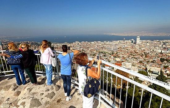 Измир — третий по величине город Турции на побережье Эгейского моря