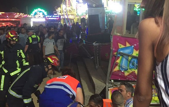 Трагедия на аттракционе: по меньшей мере 28 человек получили ранения после поломки карусели на испанской ярмарке