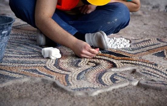 Мозаика площадью 1200 квадратных метров откроется для посетителей в южной части Турции Хатай