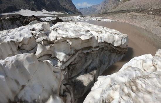 Быстрое таяние ледников на юго-востоке Турции, вызывает опасения