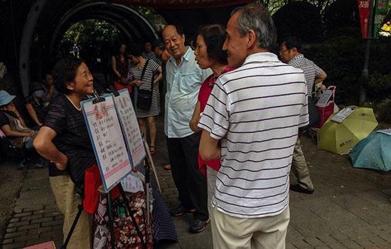 Удивительный Китай ярмарка знакомств в Шанхае