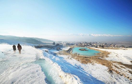 Бассейн Клеопатры в Хиераполисе