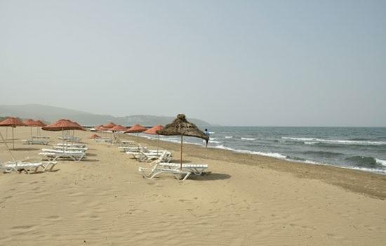 Пляж Памучак в Кушадасы
