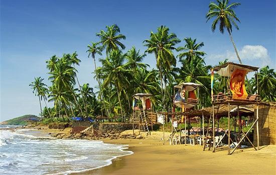 Западно-Индийский штат Гоа привлекает туристов на короткий отпуск