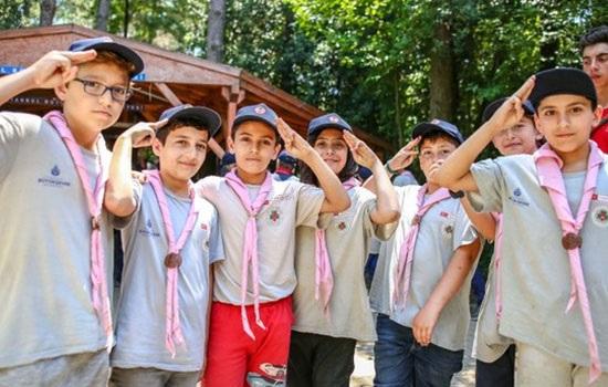 Стамбульский летний лагерь скаутов приглашает молодежь из 10 стран