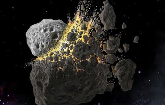 Ученые утверждают, что 466 миллионов лет назад жизнь на Земле сформировалась под воздействием астероидов