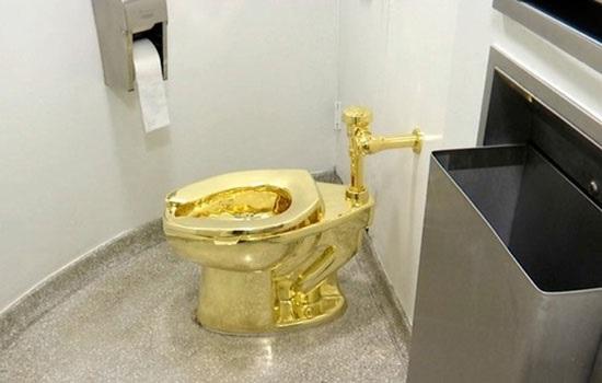 Воры украли золотой унитаз из дома-музея, где родился Черчилль