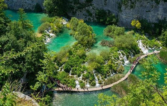 Чудо природы Хорватии — Плитвицкие озера