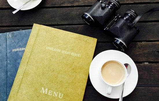 Программа для создания меню в кафе