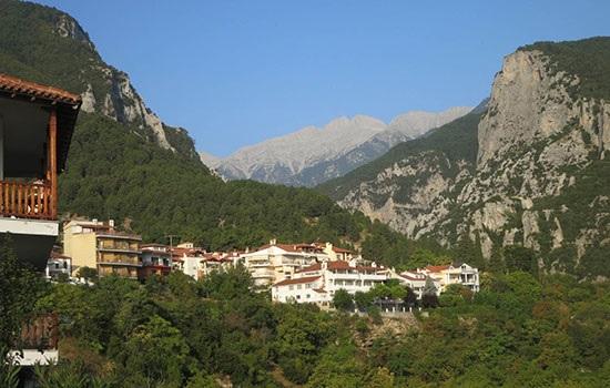 Самые высокие холмы Греции