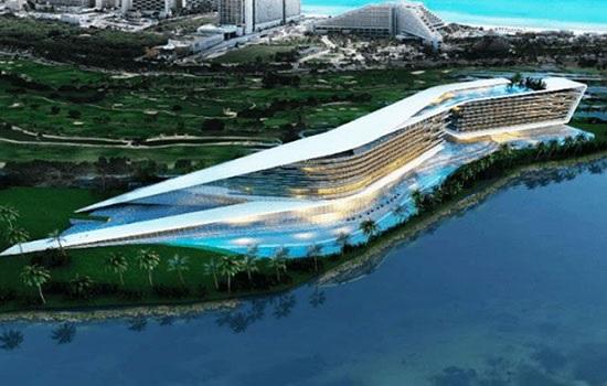 Необычный мега-отель появится в Канкуне