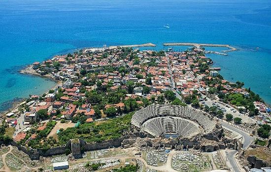Древняя земля на Турецкой Ривьере