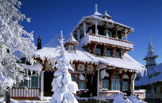 Зима в Восточной Моравии