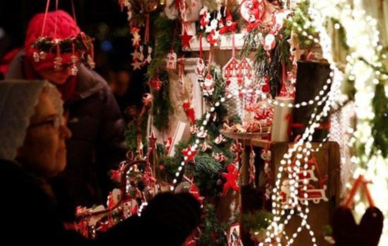 Рождественские рынки Стамбула 2019