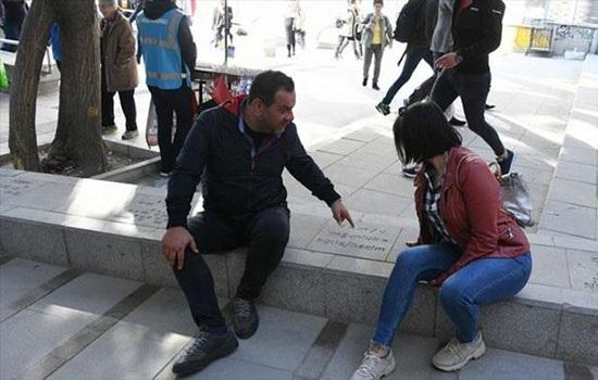 Тротуар в турецкой столице предлагает уроки по математике