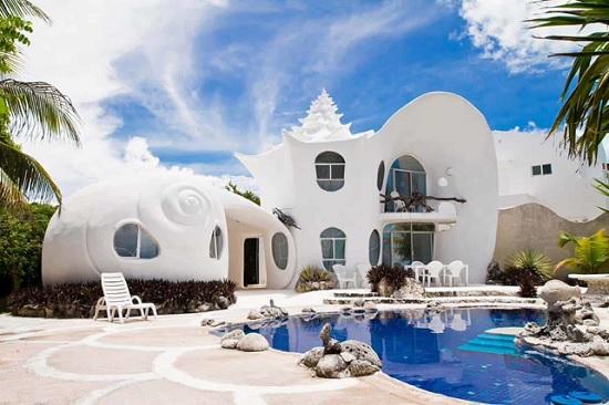 На Airbnb можно арендовать необычный дом-ракушку