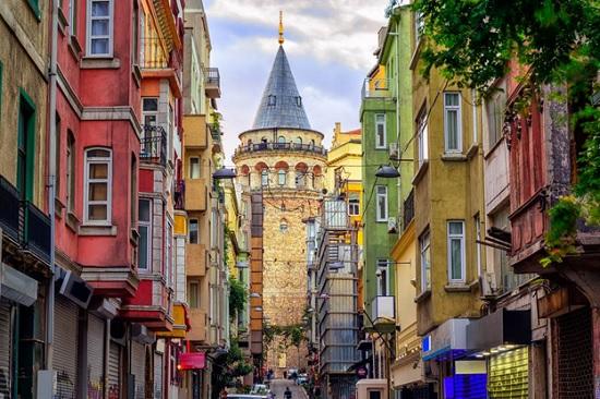 Галатская башня — один из самых старых памятников Стамбула
