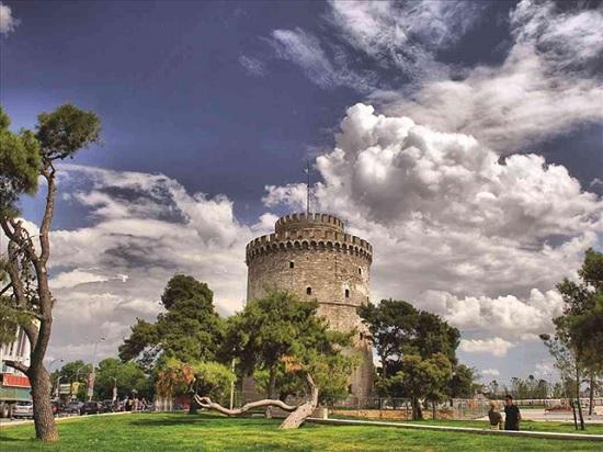 Белая башня в Салониках - символ независимости и гордость Греции
