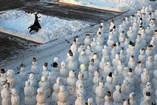 Грецию засыпало снегом, такого не было очень давно: впечатляющие фото