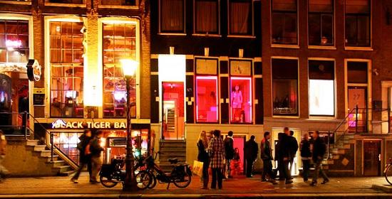 Квартал красных фонарей, Нидерланды
