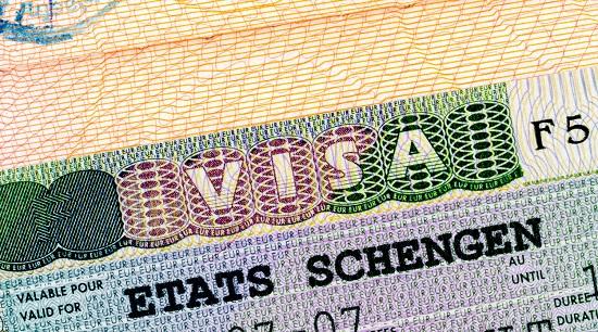 Шенгенская виза для лиц, проживающих в других государствах