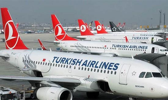 """""""Турецкие Авиалинии"""" увеличат число международных рейсов на курорты Турции"""