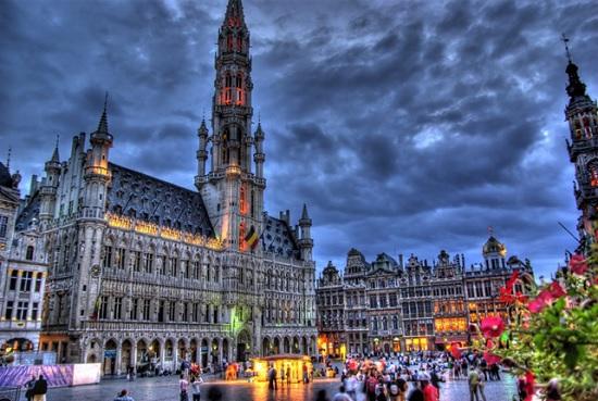 Самые впечатляющие места Брюсселя (Бельгия)