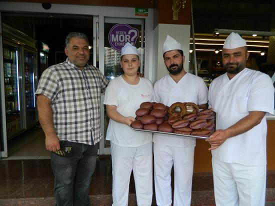 В Турции набирает популярность фиолетовый хлеб