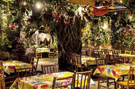 Уникальные и весёлые рестораны Лондона