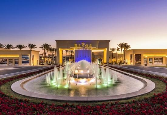 Первое место в категории «Все включено на Ближнем Востоке и в Египте» у команды «Rixos Premium Seagate & Rixos Sharm El Sheikh» (Египет)