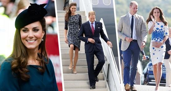 Модные советы от Герцогини Британии Кейт Миддлтон для стильных туристов