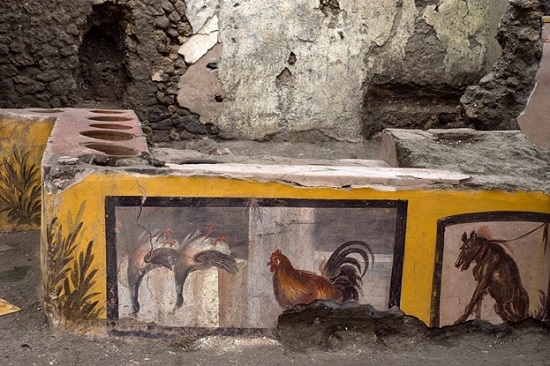 В древнеримских Помпеях откопали уникальную находку - античный фаст-фуд для туристов