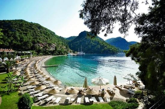 Турецкие бирюзовые побережья