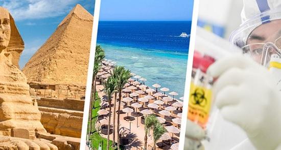 Египет промониторил турпоток 2020 года и ужаснулся от степени его обвала