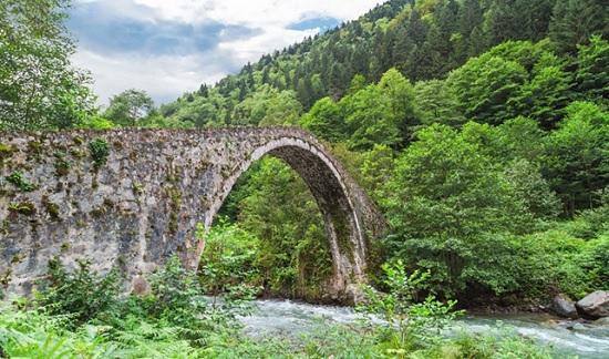Исторические сокровища в Ризе, Турция