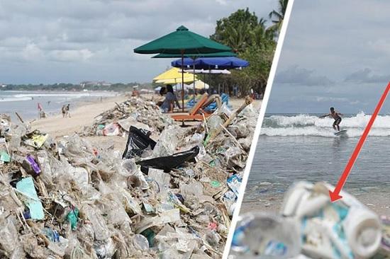 Пляжи Бали превратились в мусорные свалки: в чем же причина?