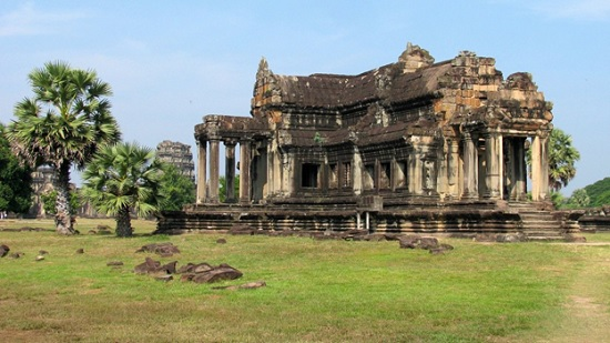 Ангкор-Ват или город-храм в Камбодже