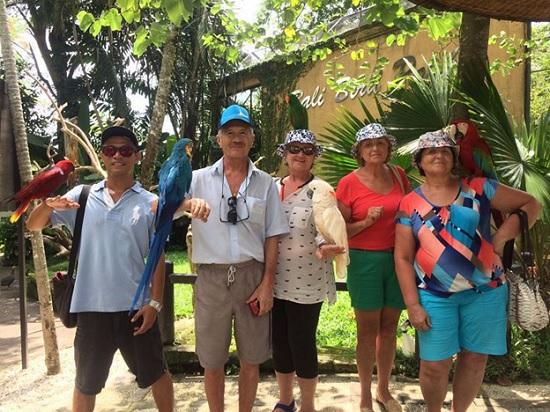 Парк птиц на Бали – отдых для взрослых и детей!