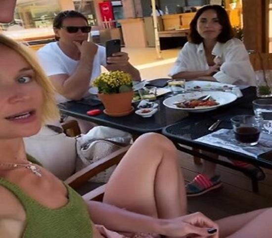Гагарина пошла на опережение, и сама объявила, что полетела в отпуск с женатым мужчиной