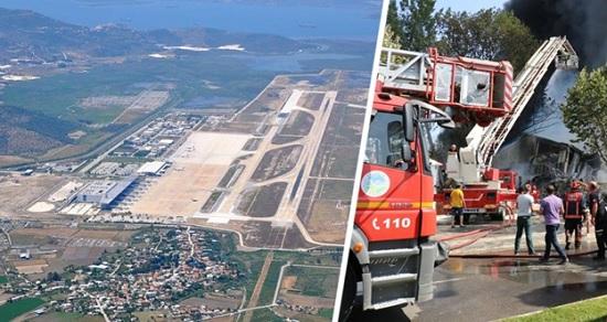 В турецком аэропорту Бордума случился пожар: самолёты в экстренном порядке разворачиваются и ищут другие места для посадки