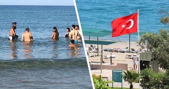 Охотники за золотыми украшениями заполонили пляжи в Анталии