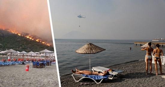 На выходных в Анталии начнется новая волна «потепления» с проливными дождями