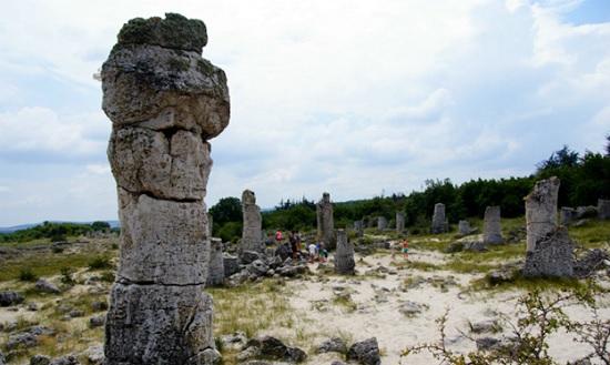 Каменный лес в Болгарии - посмотри на этот феномен своими глазами