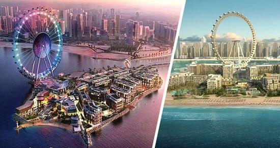 В Дубае откроют самое высокое колесо обозрения «Ain Dubai»