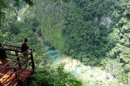 Семук Чампей — потерянный рай в Гватемале