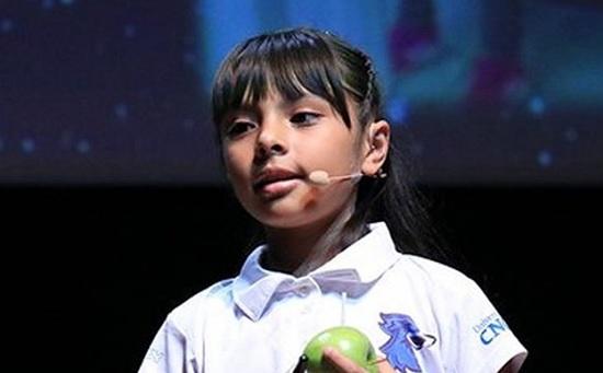 10 – летняя девочка из Мексики имеет уровень IQ в 162 балла