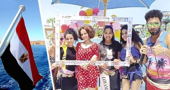 На пляжах Хургады стартовал конкурс красоты: русские туристки готовят лучшие купальники