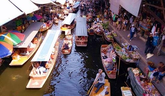 Тур по местам Таиланда. Плавучий рынок и Сад Роз