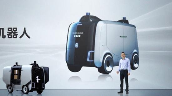 В Китае начинают свою работу роботы – курьеры